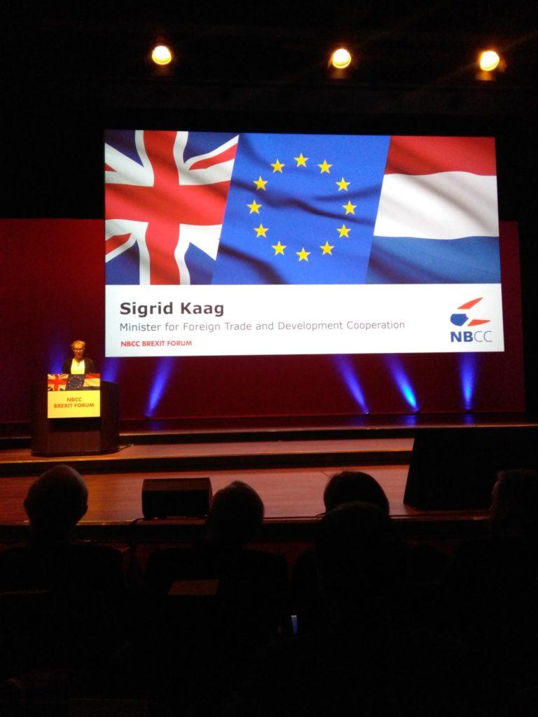 nbcc brexit forum sigrid kaag